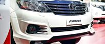 Auto Expo 2016: Toyota Fortuner TRD Sportivo Platinum showcased
