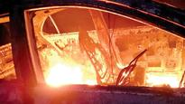 Five Charred to Death as Car Rams Auto