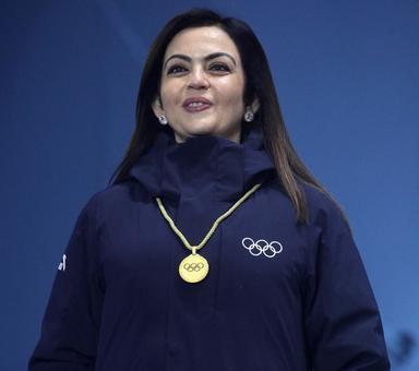 Sports Shorts: Nita Ambani presents medals at Winter Olympics