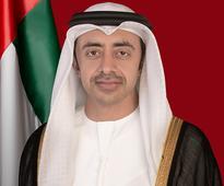 H.H. Sheikh Abdullah bin Zayed chairs meeting...
