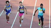 Athletics: Rodgers wins 100m, Kiryu third in Grand Prix