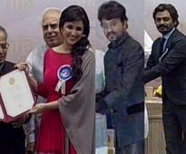 Parineeti Chopra, Irrfan Khan, Nawazuddin Siddiqui collect National Awards