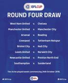 EFL Cup 4th round draw: It's a Manchester derby as United hosts City   West Ham face Chelsea   Liverpool draw Spurs