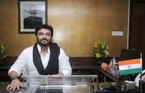 Babul Supriyo takes over as MoS for Heavy Industry & Public Enterprises