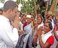 Rahul visits Lakhimpur flood-affected areas