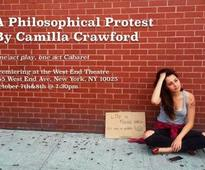 Camilla Crawford's A PHILOSOPHICAL PROTEST to Premiere at the West End Lounge