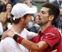 'Champagne on ice': Andy Murray warns Novak Djokovic ahead of Wimbledon