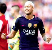 La Liga: Neymar, Suarez hand Barca five-star win