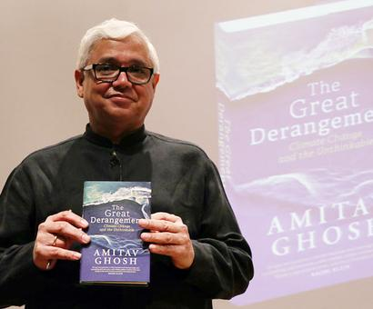 When Amitav Ghosh issues a warning, it's time to listen
