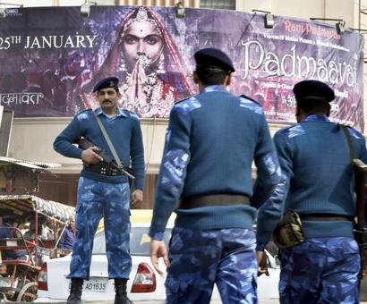Padmaavat opens under security cover, cinegoers defy threat of violence