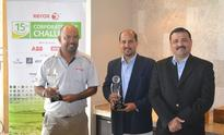 Mohamed and Kamil win 11th round of Xerox Corporate Golf Challenge