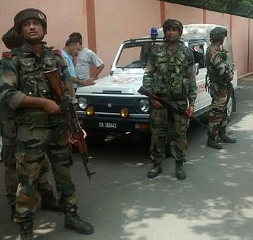 Terror alert in Jammu; security forces on standby