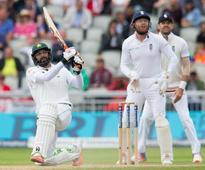 Moeen Ali strikes against Pakistan as England lose Stokes