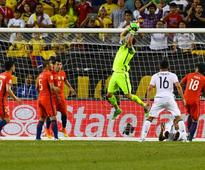 Chile beat Colombia 2-0 to set up final against Argentina