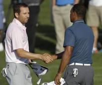 Woods, Garcia shares lead with Lingme ...