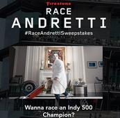 Firestone contest pits contestants vs. Andretti