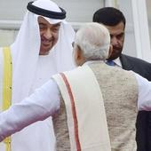 UAE Crown Prince arrives in India for Republic day, to hold talks with PM Modi tomorrow