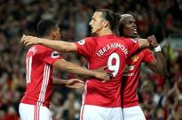 The moment Ryan Shawcross was stunned by Manchester United FC's Zlatan Ibrahimovic