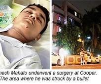 Juice delivery boy in Juhu bullet scare