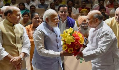 'Won't rest, won't let you rest': PM prepares BJP for 2019