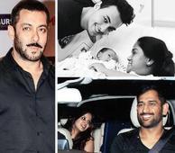 Salman Khan plays host to Captain Cool