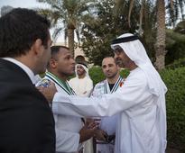 Sheikh Mohammed bin Zayed meets UAE Jiu-Jitsu fighters - in pictures