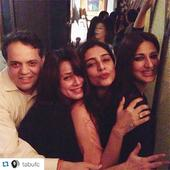 Photo:Tabu and Sonali have a blast partying!