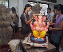 Meet the maker of eco-friendly Ganesha idols