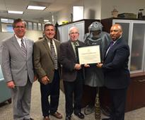Schonstedt Instrument Company in Jefferson County, West Virginia, and Woodstown Society of Religious Friends Recognized for Humanitarian Demining Efforts June 17, 2016A small manufacturing company located in Kearneysville, W.Va., helps make the world sa
