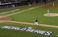 The Latest: MLB hopes to beat rain, get in Game 2 of Series (Yahoo Sports)