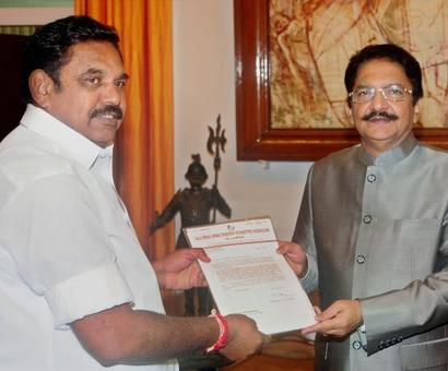 All eyes on Guv as Palanisami, OPS claim to have numbers