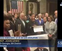 Rep. John Lewis Bookends the House Democrats Gun Control Sit-In