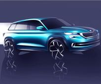 Skoda's 7-seat SUV (Kodiak) to be inspired by VisionS design study debuting at Geneva