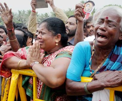 AIADMK claims 77 persons died of grief over Jaya's demise, announces relief