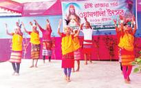 Garo people celebrate Wangala in Mymensingh