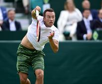 Kohlschreiber's hopes of home success ended by Renzo Olivo in Hamburg