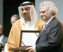 Cultural honour for Lebanese author