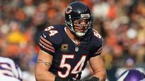 Brian Urlacher says he's retiring from NFL