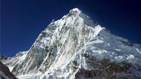 West Bengal police officer Rudra Prasad Haldar scales Mount Everest