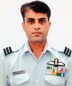 The President of India Confers Vayu Sena Medal (Gallantry) to Wing Commander Nirmal Kumar Bakshi