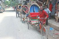 Helping out one rickshaw puller at a time