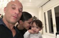 Vin Diesel shares cute selfie with Deepika Padukone and his baby daughter