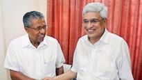 Kerala governor Justice (retd) P Sathasivam invites Pinarayi Vijayan to form government