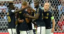 Ruthless Monaco power past toothless Lille to lead Ligue 1