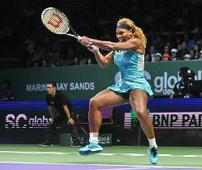 Serena wins WTA Finals in Singapore