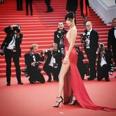 You Won't Believe What Bella Hadid Was Wearing Under Her Sexy Cannes Dress