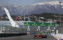 Vettel and Ferrari fastest in practice for Russian GP