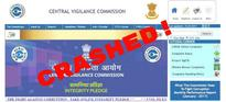 [Updated] Failure Of Digital India? Central Vigilance Commission Website Crashes, All Data Of Corrupt Officials Lost For Ever!