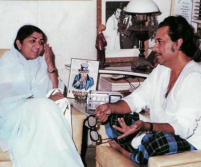 When Lata Mangeshkar interviewed Kishore Kumar