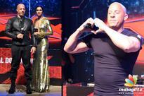 Deepika & Vin Diesel take Mumbai by storm